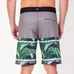 Bermuda Boardshort Elastano Tropical Green
