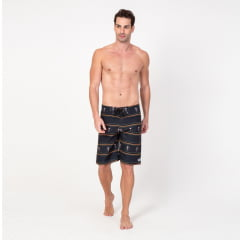Bermuda Boardshort Lists Finas Caveira