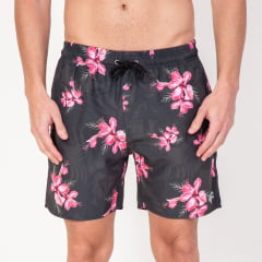 Short Curto Masculino Floral Pink