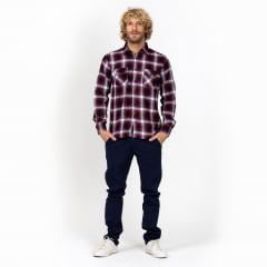 Camisa Flanelada Xadrez Surfly