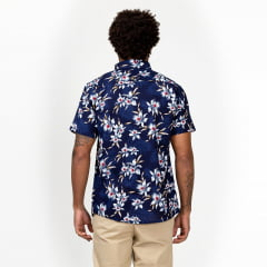 Camisa Manga Curta Floral Surfly
