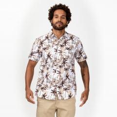 Camisa Manga Curta Praia Surfly