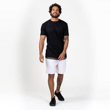 kit 4 T-Shirt Básicas Lisas